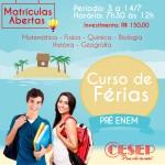 CURSO DE FÉRIAS - RETRATO