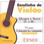 ESCOLHINHA DE VIOLÃO